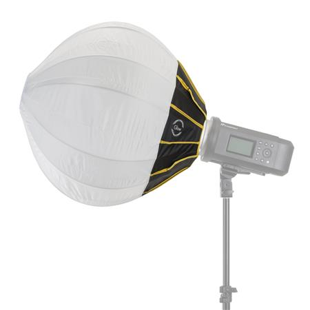 Glow 20 Quick Ball Lantern Softbox With Deflection Disk Bowens Sd Ring