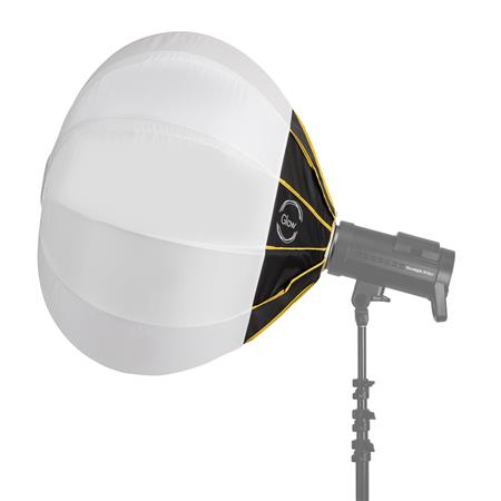 Glow 31 Quick Ball Lantern Softbox With Deflection Disk Bowens Sd Ring