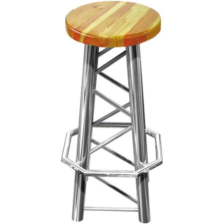 Global Truss Bar Stool Style Chair: Picture 1 regular