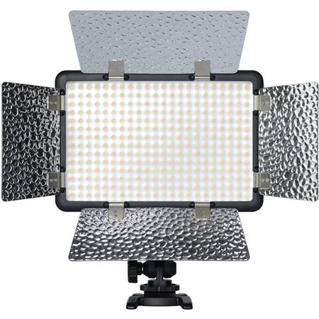 100 Lens Tissue Flash Bracket 36 LED Photo /& Video Light Microphone
