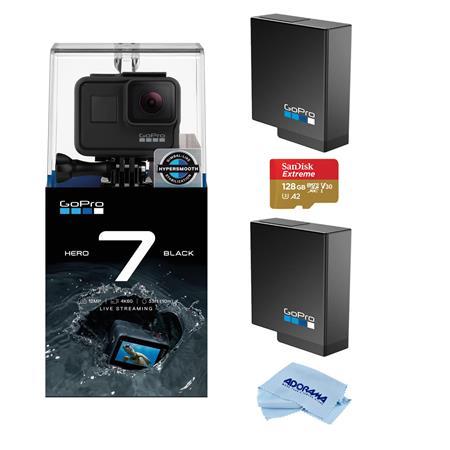 d65754f816 GoPro HERO7 Black Camera - Bundle with Extreme Sport Accessory Set ...