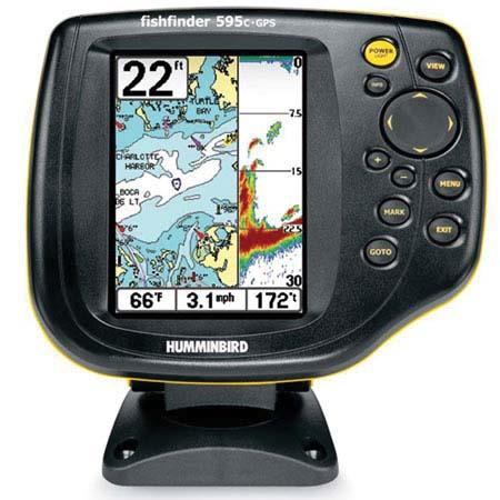 "humminbird hummingbird 595c fishfinder sonar/gps combo, 5"" display, Fish Finder"