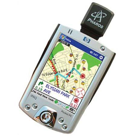 Pharos iGPS-SD Pocket SDIO GPS Navigator with Ostia USA