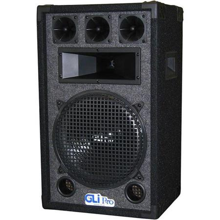 "GLI Pro 12"" 3-Way Carpeted Speaker, Single XL-1240 - Adorama"