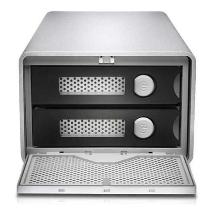 G-Technology G-RAID 20TB (2x 10TB HDD) 2-Bay Thunderbolt 3 RAID Array, Up  to 480MB/s Transfer Rate, Supports RAID 0, 1 and JBOD