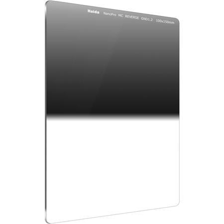 ND Optical Glass Filter 100 4x6 Haida NanoPro 100mm MC Graduated Neutral Density 1.2 Hard Edge 4-stop