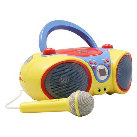 12511a3d2dd2 Hamilton Buhl KIDS-CD30 Kids Audio CD Player and Karaoke Machine ...
