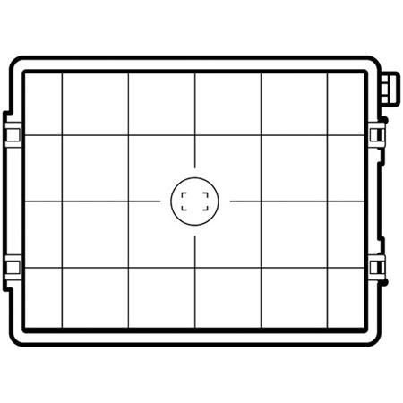 Hasselblad Focusing Screen Grid for 60mp & 100mp sensors