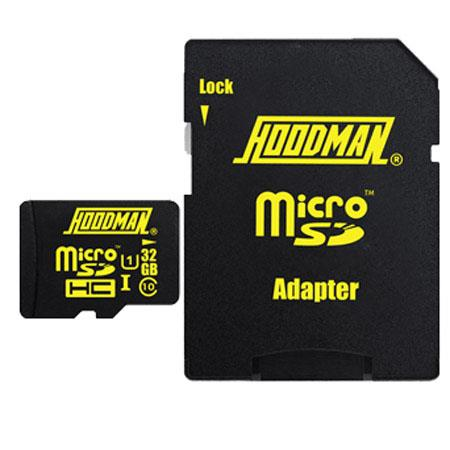 Hoodman 32GB Class 10 microSDHC: Picture 1 regular