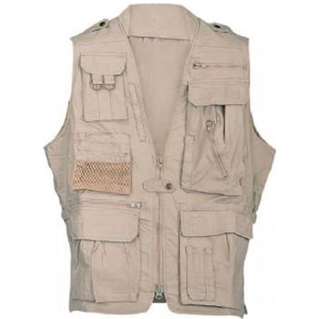 Campco Humvee Safari Photo Vest Khaki Large Hmv Vs K L