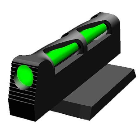 HiViz LITEWAVE Interchangeable Front Sight for Ruger SR9, SR9C, SR40, SR40C  and SR45 Pistols