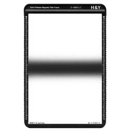 4 Stops Filter with Magnetic Filter Frame H/&Y K-Series HD MRC Hard Graduated Neutral Density 1.2