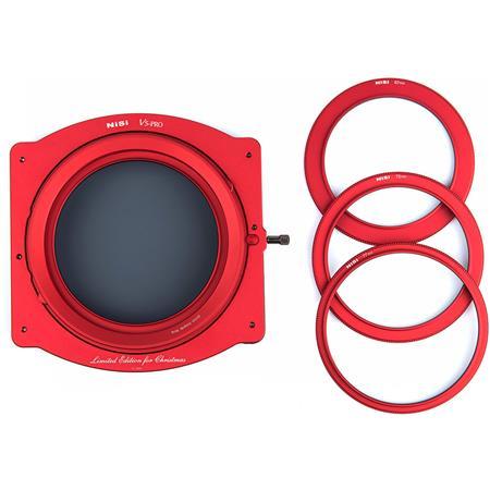 NiSi V5 Pro Red Edition 100mm Filter Holder with Enhanced Landscape CPL