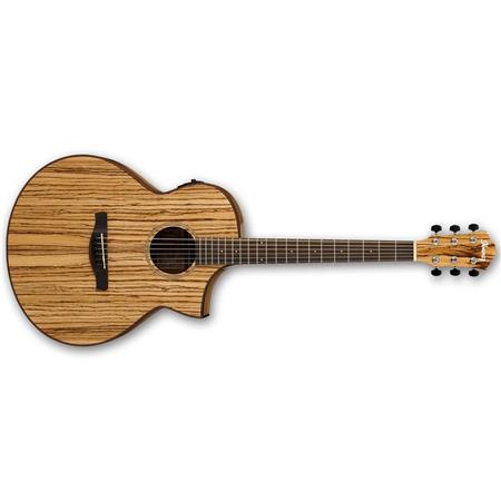Ibanez Exotic Wood Aew40zw Acoustic Electric Guitar With