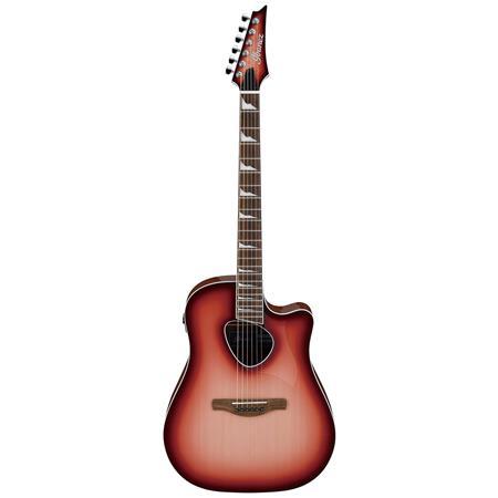 9520877baa Ibanez ALT Altstar ALT30 6-String Semi-Acoustic Guitar, Red Coral ...