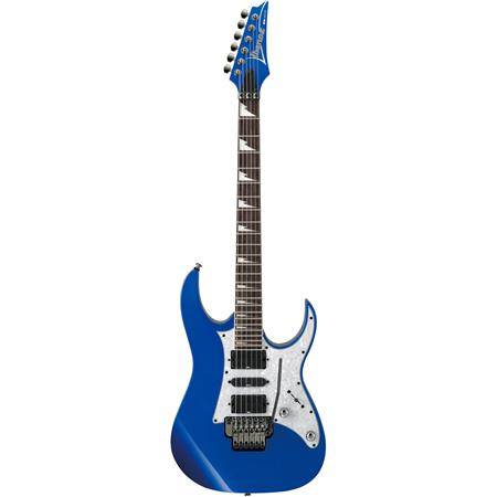 Ibanez RG Series RG450DX Electric Guitar, 24 Frets, Wizard III Maple Neck,  Passive Pickup, Bound Rosewood Fretboard, DL Tremolo Bridge, Starlight Blue
