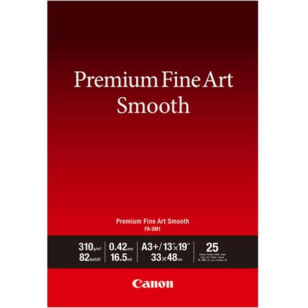 Canon Premium Smooth Matte Cotton Fine Art Paper 13x19 25 Sheets