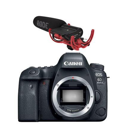 Canon EOS 6D Mark II DSLR Body With Accessory Bundle
