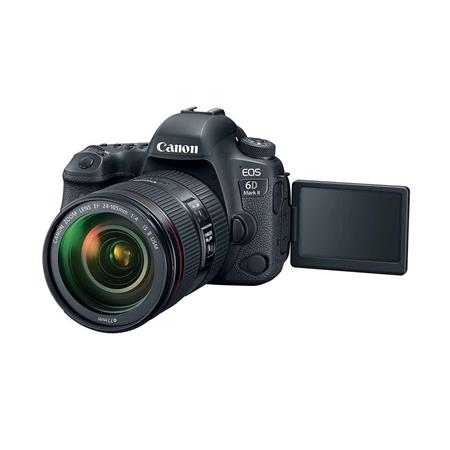 Canon EOS 6D Mark II with 24-105mm f/4L Lens Holiday Bundle