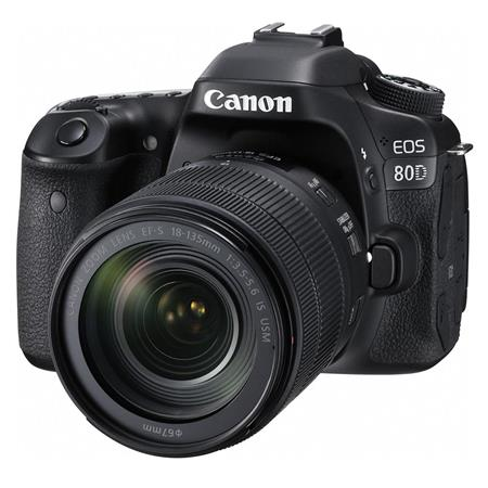 Canon EOS 80D 24.2MP DSLR w/18-135mm Lens