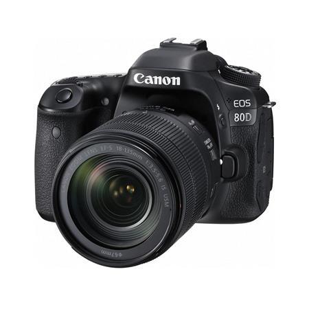 Canon EOS 80D 24.2 HD DSLR w/18-135mm Lens
