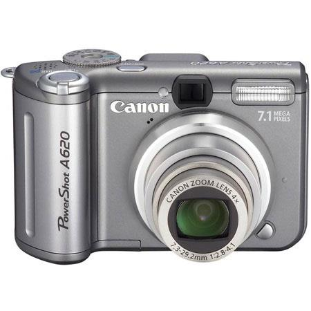 canon powershot a620 digital camera kit 7 1 megapixel 4x optical rh adorama com Digital Camera USB Cable Digital Camera Microphone