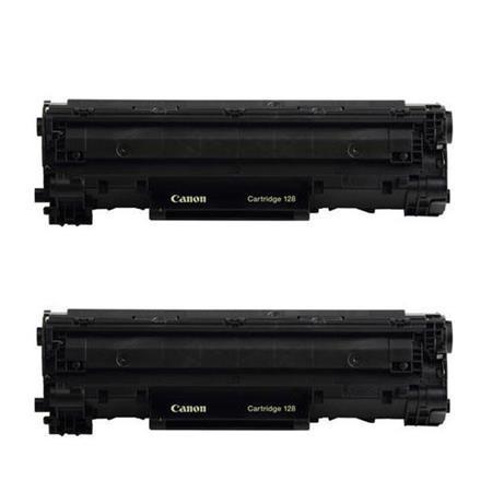 Canon 2x Imageclass 128 Black Toner Cartridge