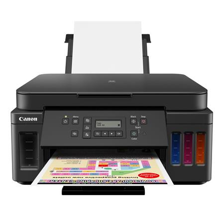 Canon PIXMA G6020 Wireless MegaTank All-In-One InkJet Printer, 4800x1200  dpi, 350 Sheet Capacity - Print, Copy, Scan