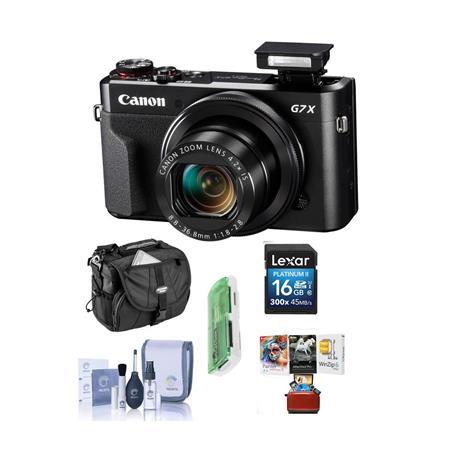 Canon PowerShot G7 X Mark II Digital Camera and Free Mac Accessory Bundle