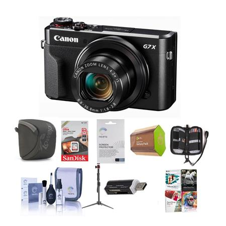Canon PowerShot G7 X Mark II Digital Camera and Premium Kit