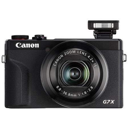 9c9bb17f93e0 Canon PowerShot G7 X Mark II Digital Point & Shoot Camera, Black ...