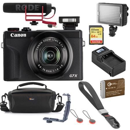 Wide Angle Lens Canon G9 Digital Camera Tube Adapter Bundle for Canon Powershot G7