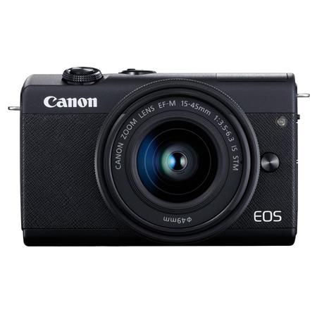 EOS M200 Mirrorless Camera with EF-M 15-45mm f/3.5-6.3 IS STM Lens, Black