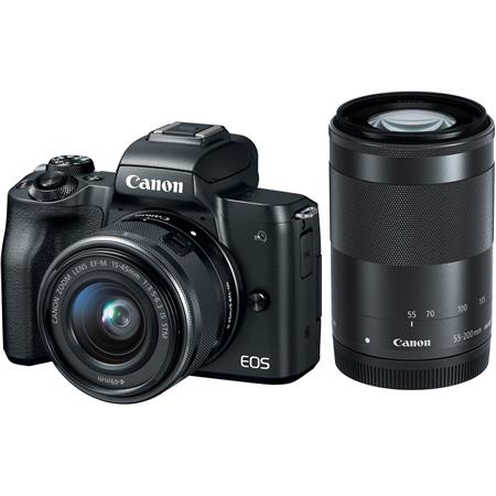 canon eos m50 mirrorless camera ef m 15 45mm 55 200mm is stm rh adorama com canon eos 50d service manual