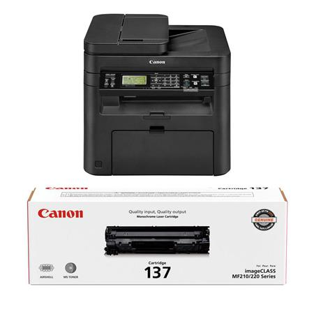 Canon imageCLASS MF244dw Monochrome Wireless 3 in 1 Multifunction Duplex  Laser Printer Print, Scan (Color), Copy - With Canon 137 Full Yield  Cartridge