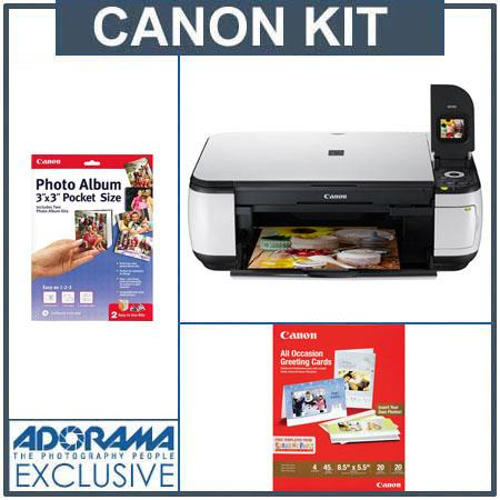 Canon Pixma Mp490 All In One Multi Functional Inkjet Photo Printer
