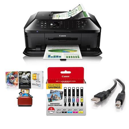 Canon PIXMA MX922 Wireless Office All-in-1 Printer W/MAC Software/CLI-251 5  Pack