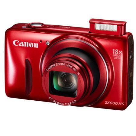 Canon PowerShot SX600 HS 16MP Digital Camera