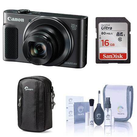 2e9703678 Canon PowerShot SX620 HS Digital Camera and Free Accessories
