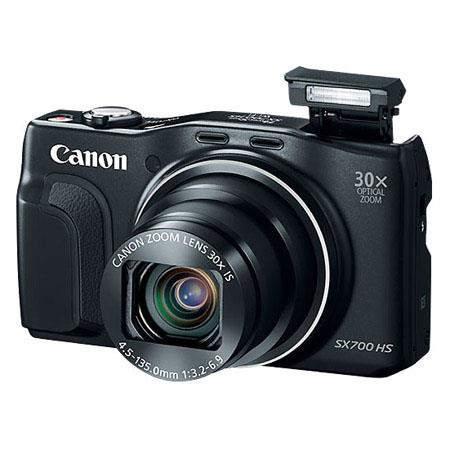 Canon SX700 16.1MP Camera w/30x Optical