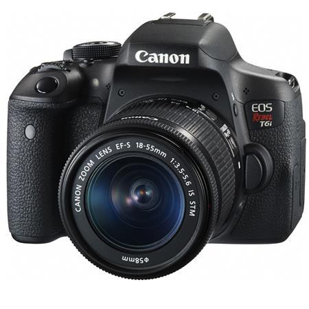 Canon Rebel T6i 24.2MP HD DSLR Camera w/18-55mm Lens