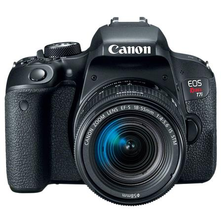 canon eos rebel t7i dslr with 18 55mm stm lens rh adorama com