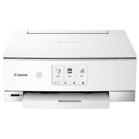 Canon PIXMA TS8220 Wireless Office All-In-One Printer, White