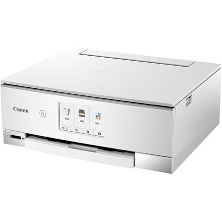 Canon PIXMA TS8320 Wireless Office All-In-One Inkjet Printer - Print, Copy,  Scan, White
