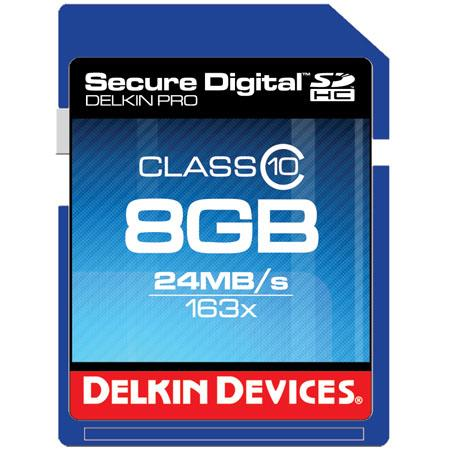 Delkin Devices Class 10 SD Memory Card: Picture 1 regular