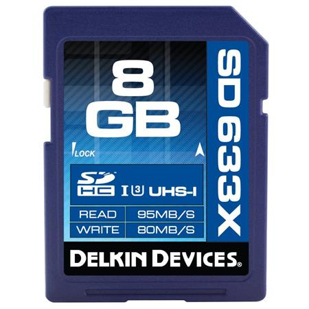 Delkin Devices Elite 633X SD Memory Card: Picture 1 regular