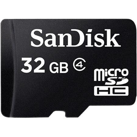 SanDisk Class 4 mSD W/ SD ADP: Picture 1 regular