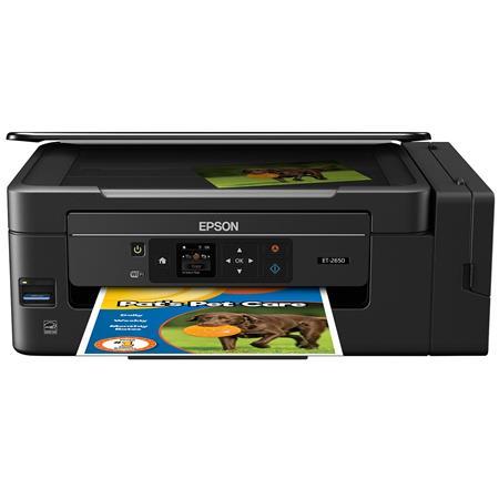 Epson Expression ET-2650 EcoTank Wireless All-in-One Inkjet Printer -  Print, Copy, Scan