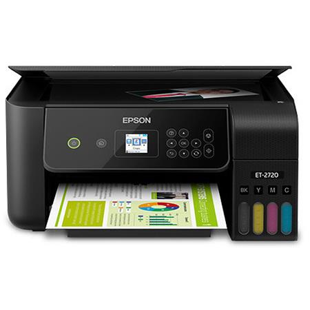 Epson EcoTank ET-2720 All-In-One Supertank Printer with WiFi, Print, Copy,  Scan, 5760x1440 dpi, Black