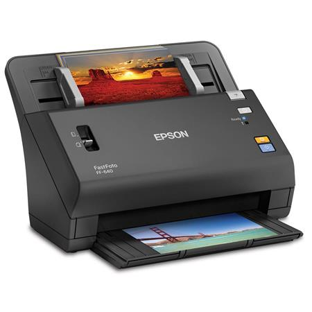 Epson fastfoto ff 640 high speed photo scanner b11b246201 for Low cost document scanner